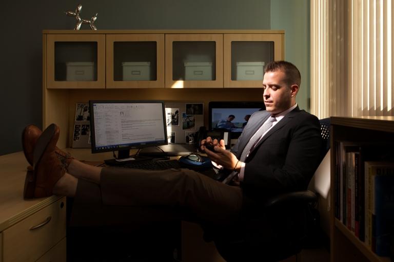 Justin Knighten, vice president of Lucas Public Affairs