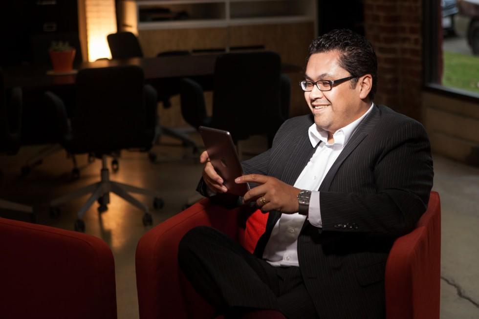 Ronnie Ledesma, owner of GooTank Marketing